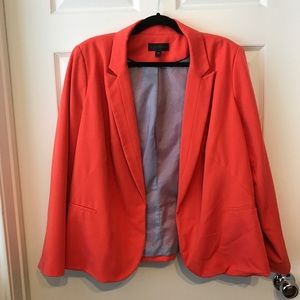2X Orange-Coral Worthington Career Blazer EUC